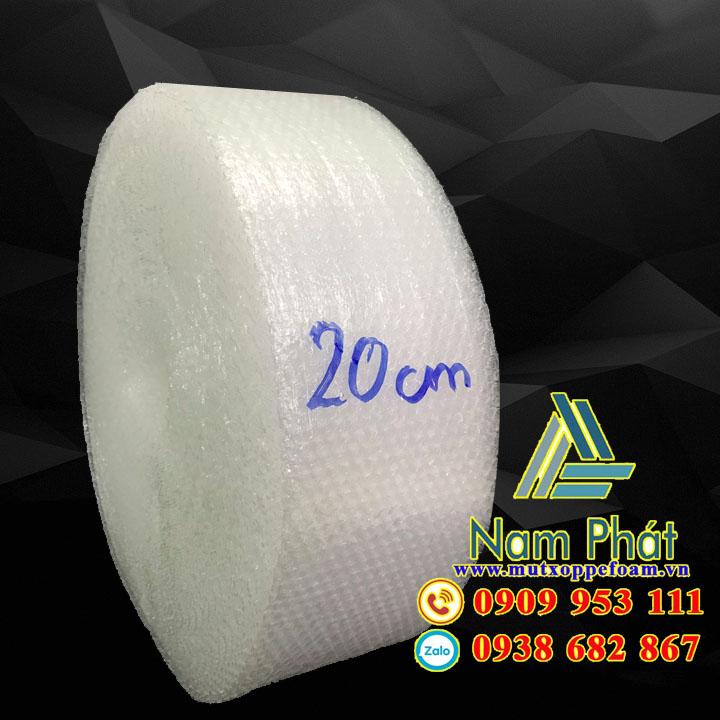Cuộn xốp hơi 20cm x 100m giá rẻ chỉ 70k/cuộn